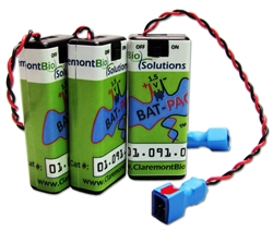 3 volt AAA Battery Pack - 3 Pack