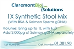 Item# 01.381.90 - 1L Human/Animal-based Synthetic  Stool Mix (w/BSA & HgDNA)